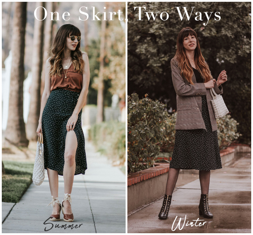 How to Style a Skirt for Summer and Winter