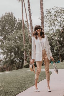Los Angeles Fashion Blogger wearing Who What Wear Collection pants at the Langham in Pasadena