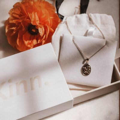Modern Heirlooms from Kinn Jewelry, The Elusive Dream Pendant, Solid Gold Jewelry