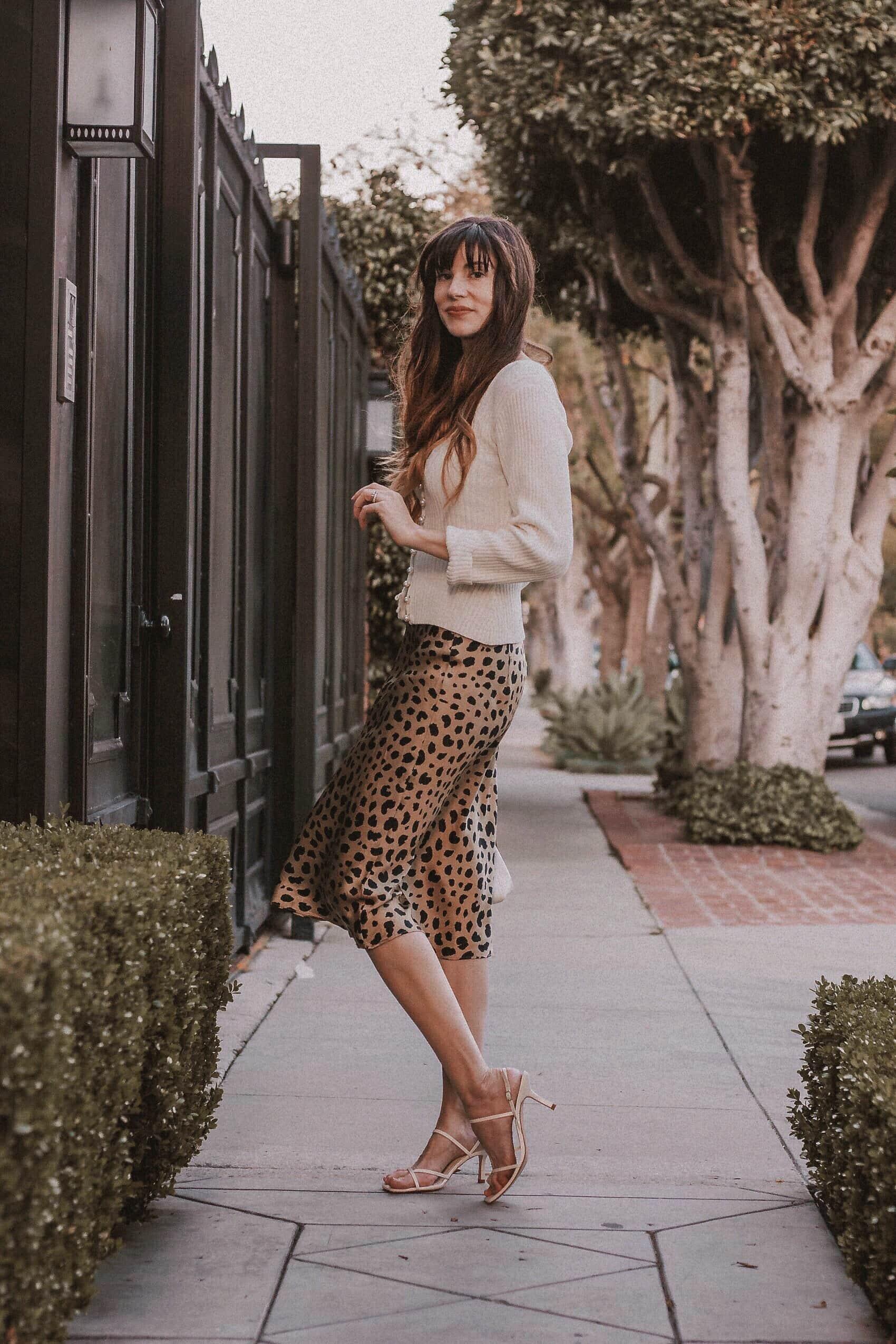 Musier Paris Sweater, Realisation Par Midi Skirt, Zara Square Toe Sandals