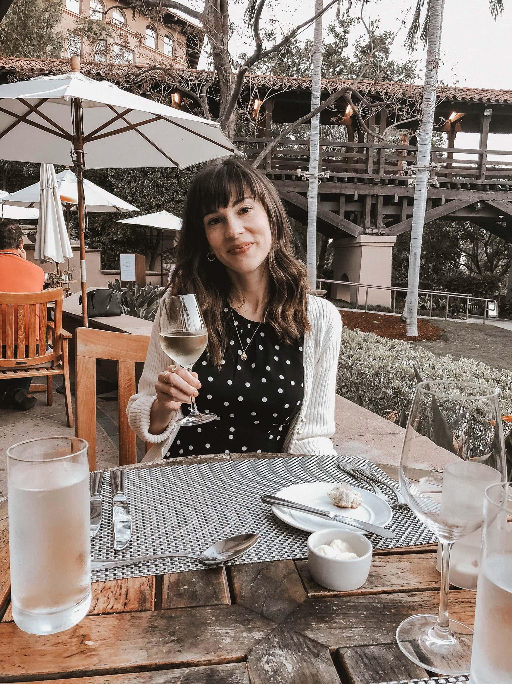 Dinner at The Terrace Restaurant at The Langham Pasadena