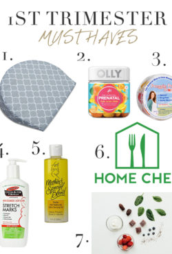1st Trimester Must Have Items