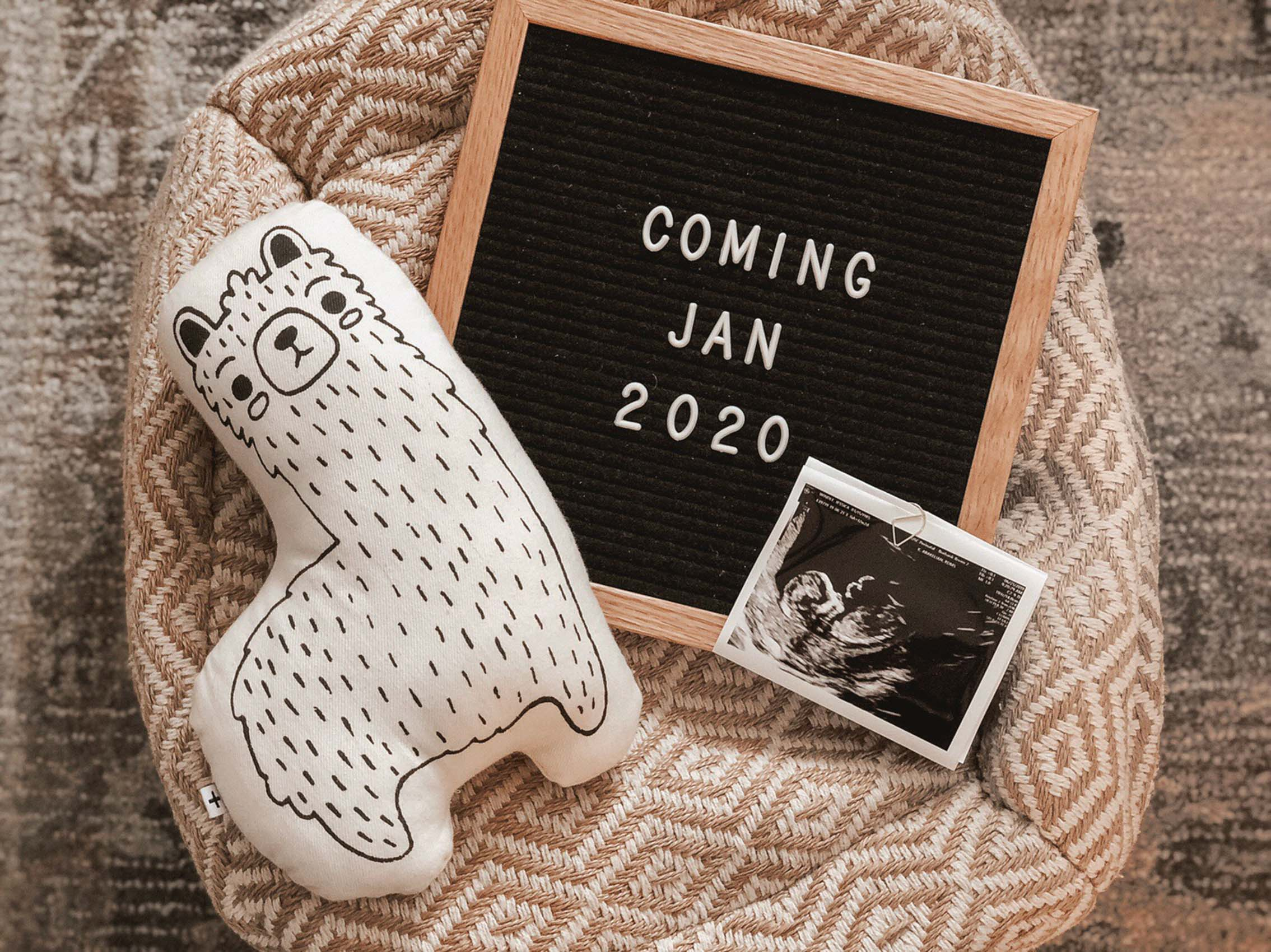 Pregnancy Announcement, Pregnant with baby #2