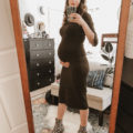 Knit Dresses to wear when pregnant