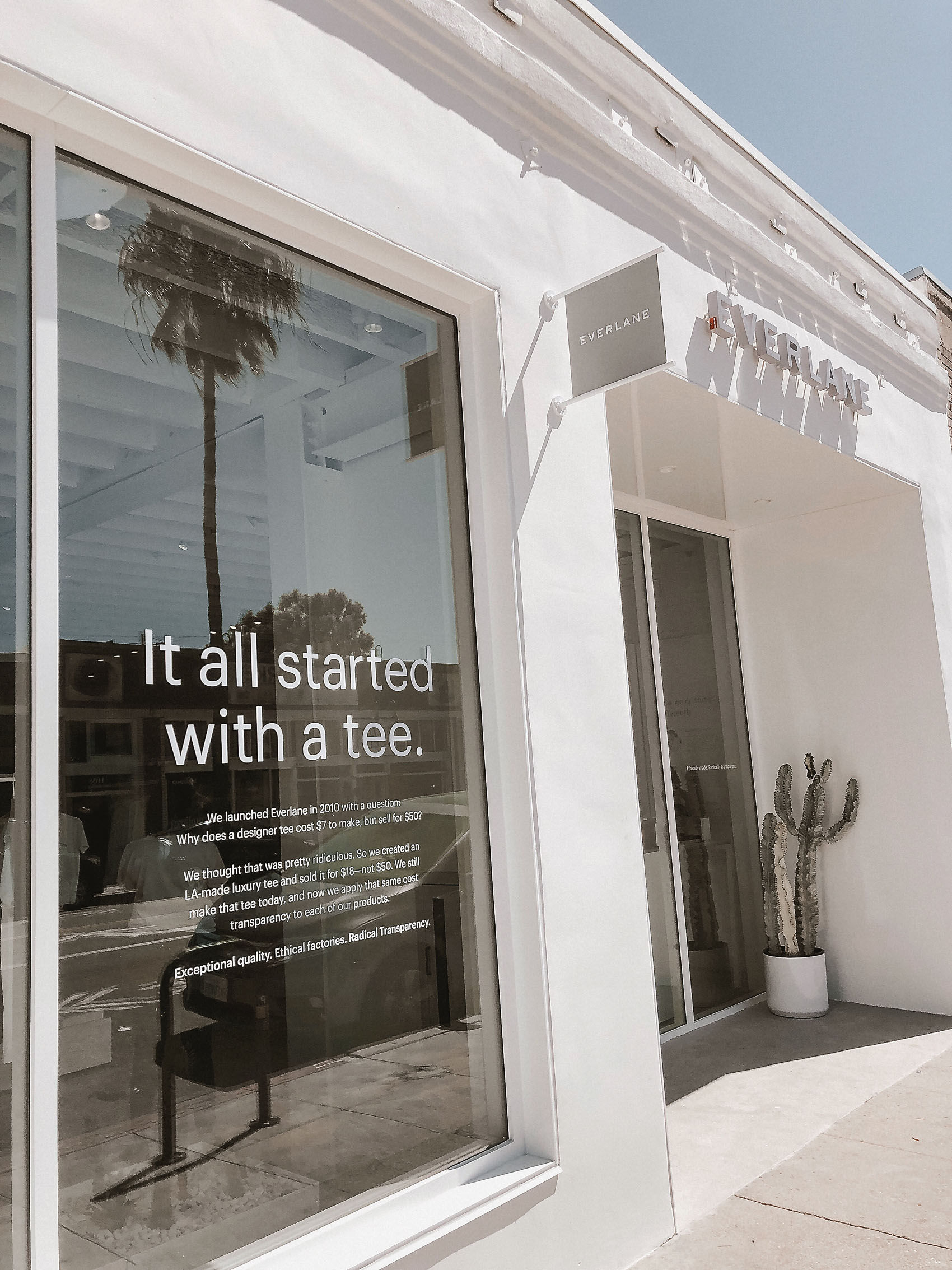 Everlane Store Los Angeles