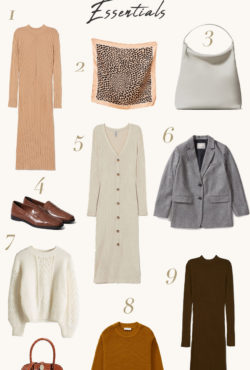 Fall Wardrobe Essentials for the minimalist
