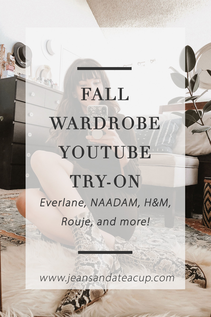 Fall Wardrobe Try-On Video