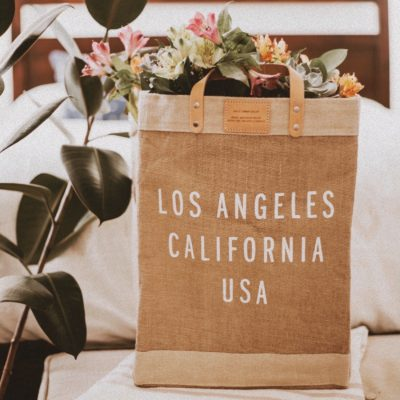 Easy Ways to Be Less Wasteful, Apolis Market Bag