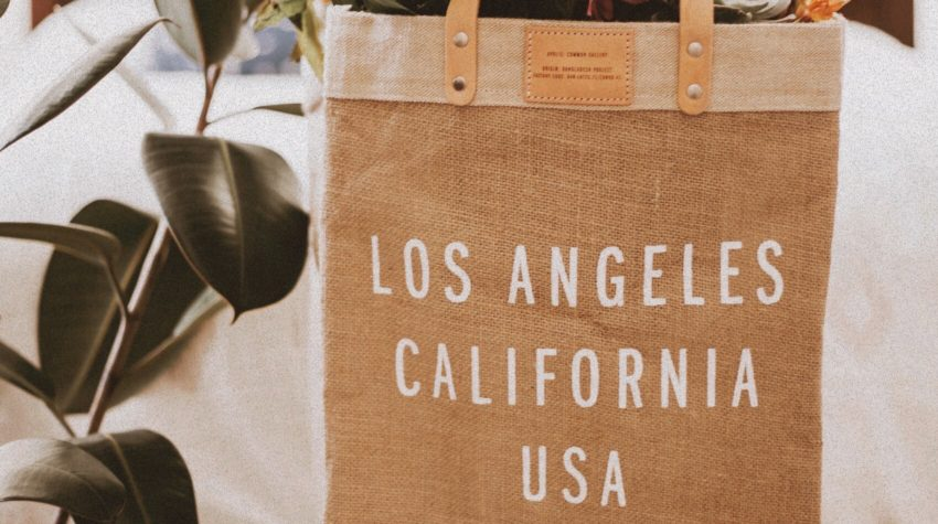 Easy Ways to Be Less Wasteful, Apolis Market Bag