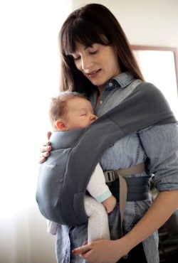Babywearing with Ergobaby