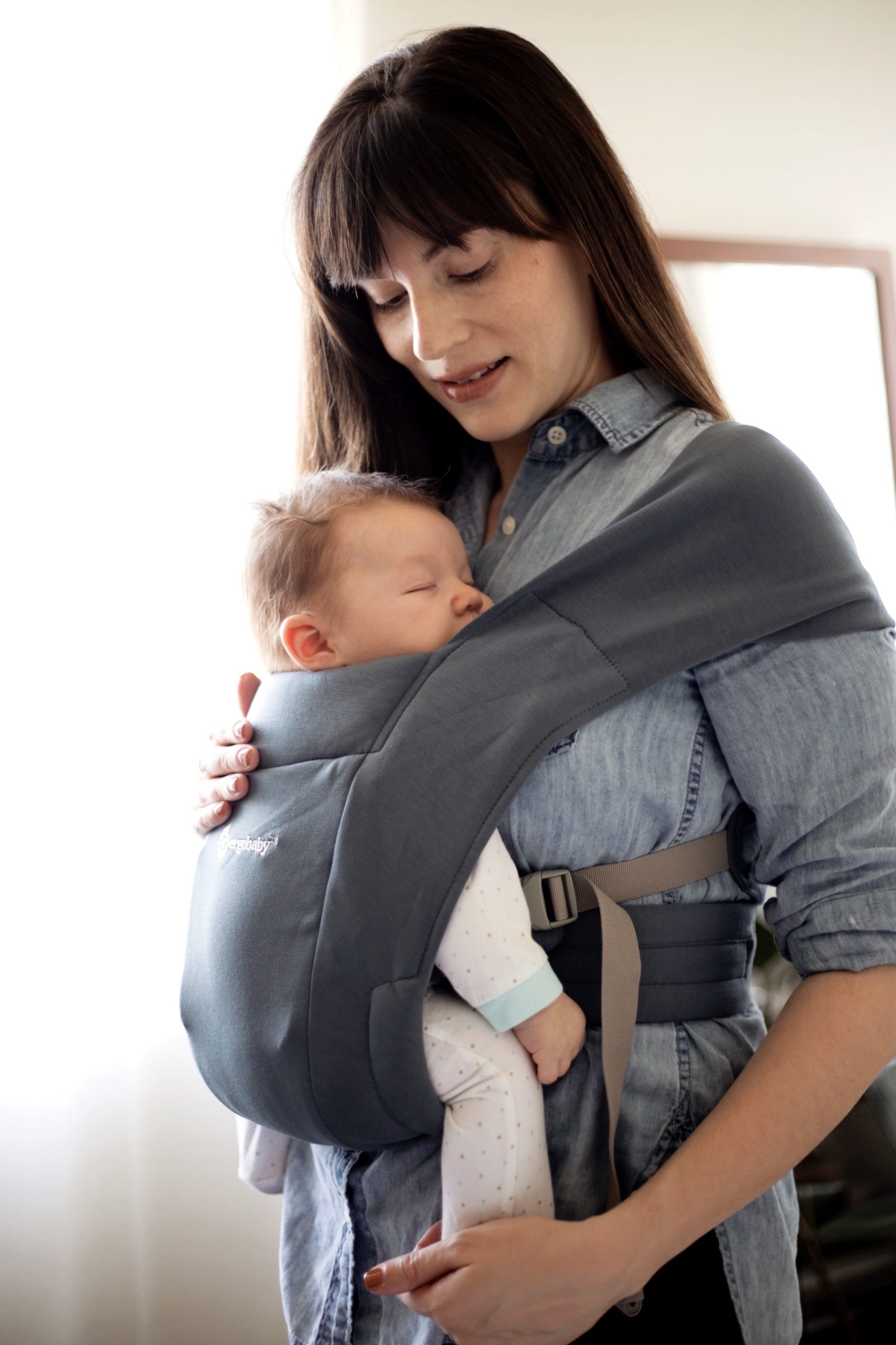 Babywearing with Ergobaby
