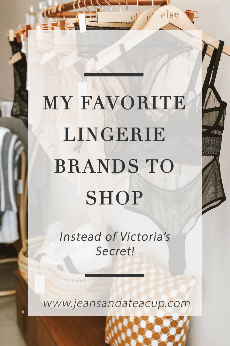 Lingerie Brands to Shop Instead of Victoria's Secret