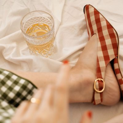 "A Gingham Photoshoot – ""When Life Gives You Lemons…"""