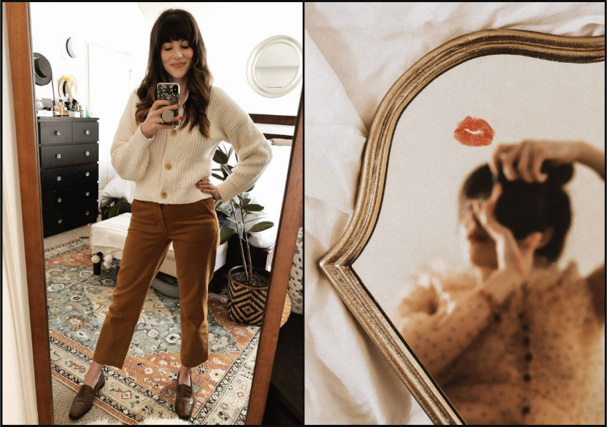 Outfit Photos in Mirror