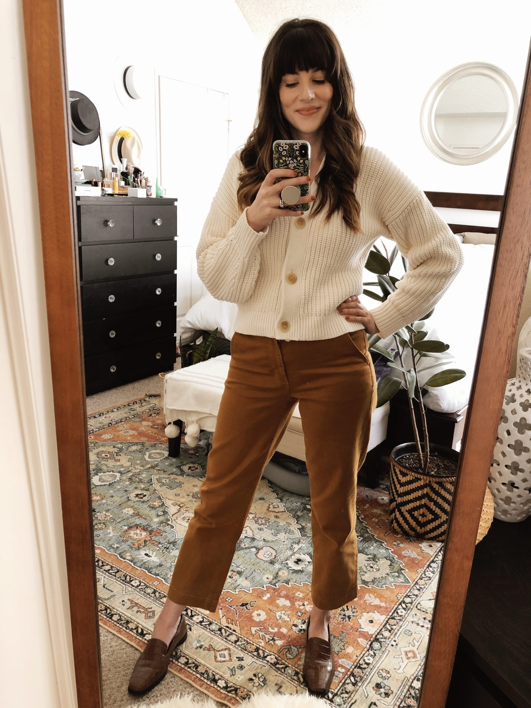 How to Style Everlane Straight Leg Crop Pants
