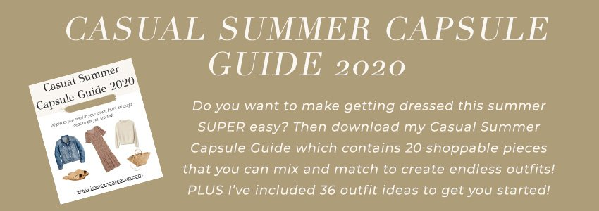 Casual Summer Capsule Guide Download