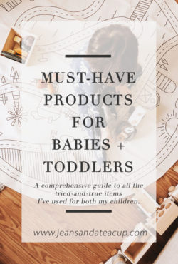 Must-have products for babies and toddlers