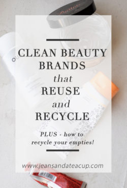 Clean Beauty Brands with Refillable Packaging, What to do with your empties