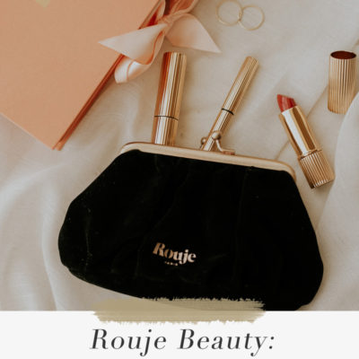 Rouje Beauty: Mascara, Eyeliner, + Lipstick Review