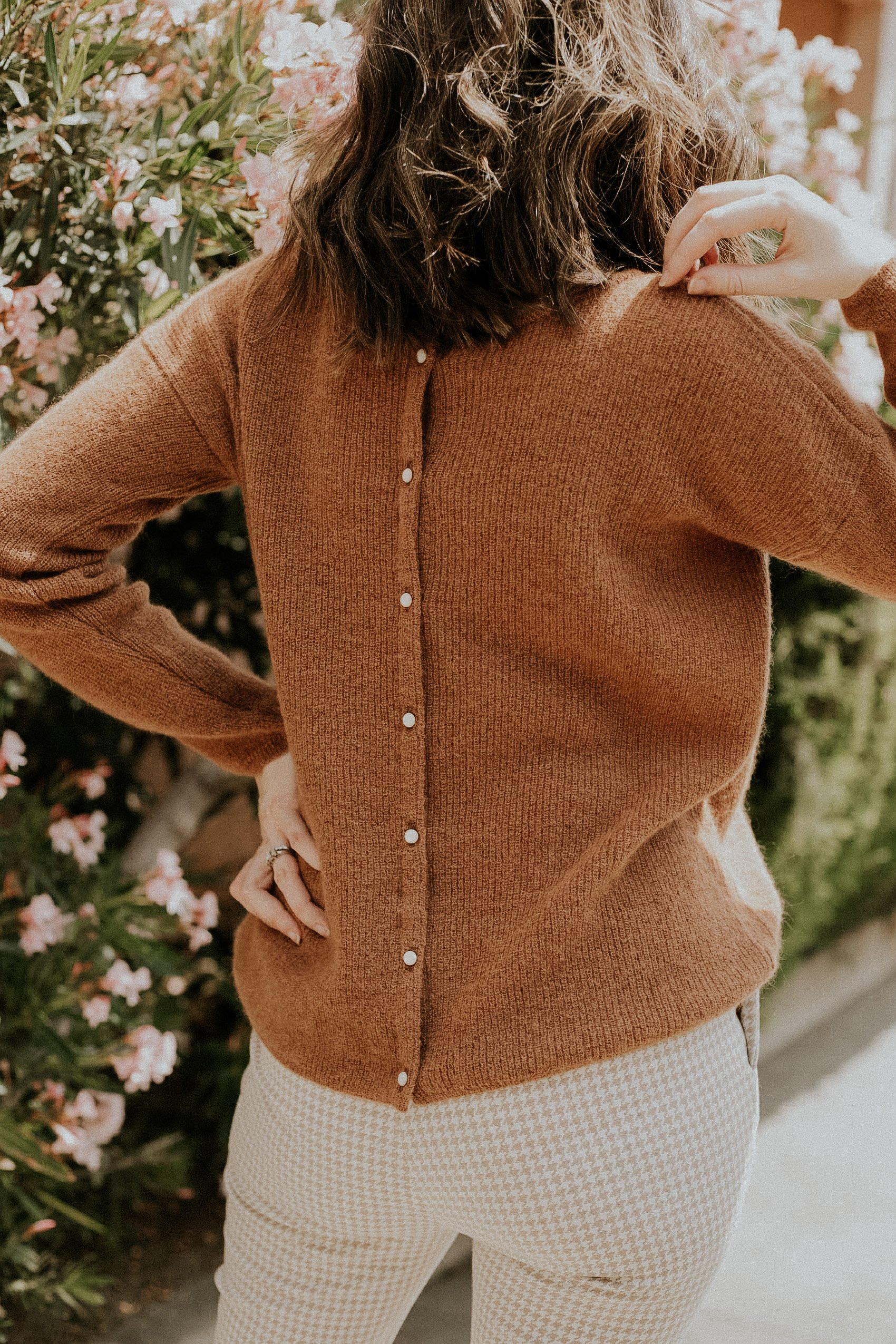 Reversible Sweater from French Fashion Brand Sezane
