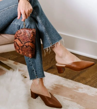 ABLE ethical fashion brand bag and shoes