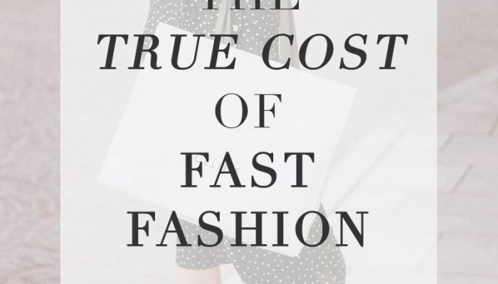 The True Cost of Fast Fashion and Why I'm Trying to Shop More Ethically