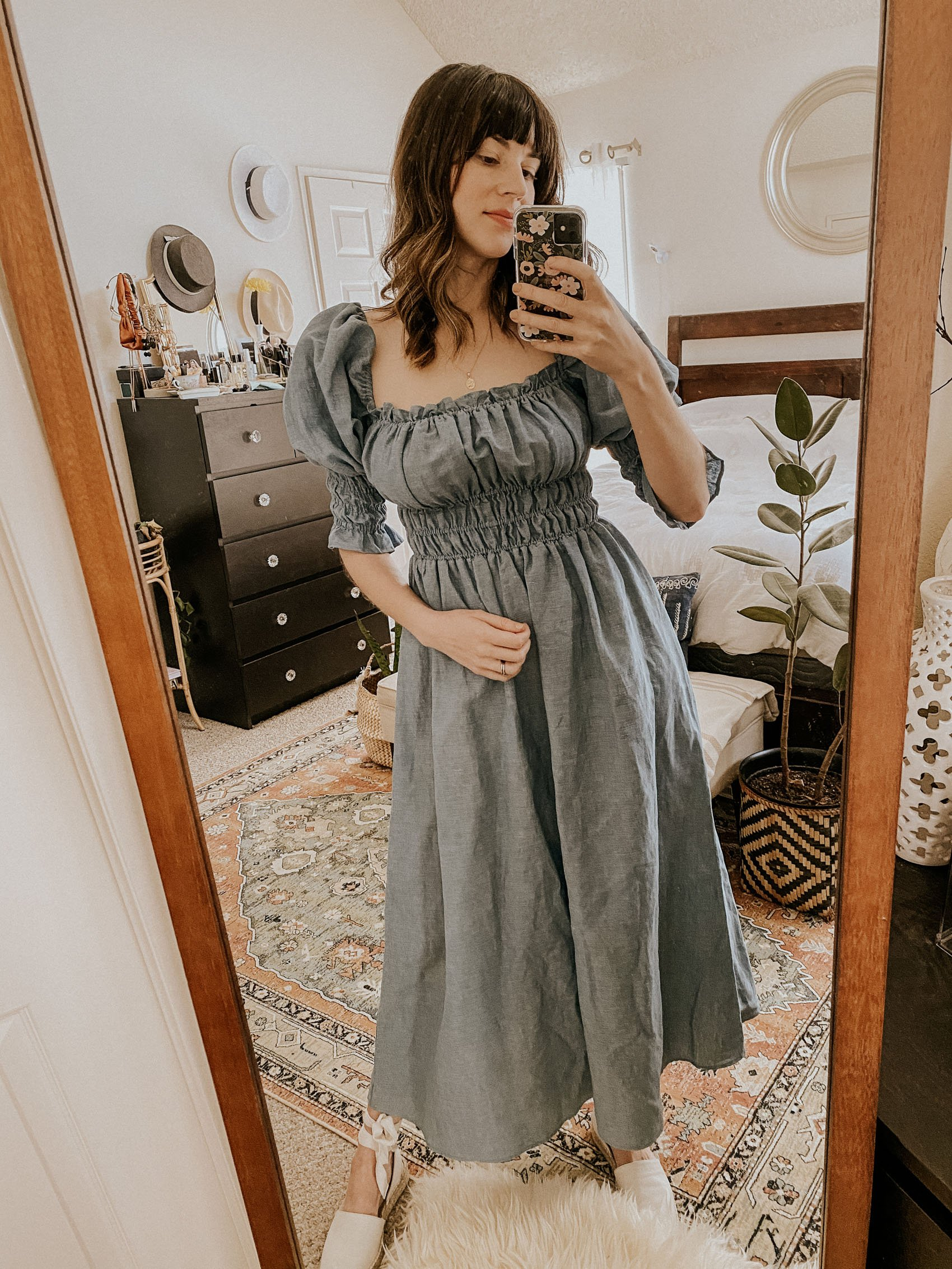 The Best Shirred Dresses Damaris Bailey