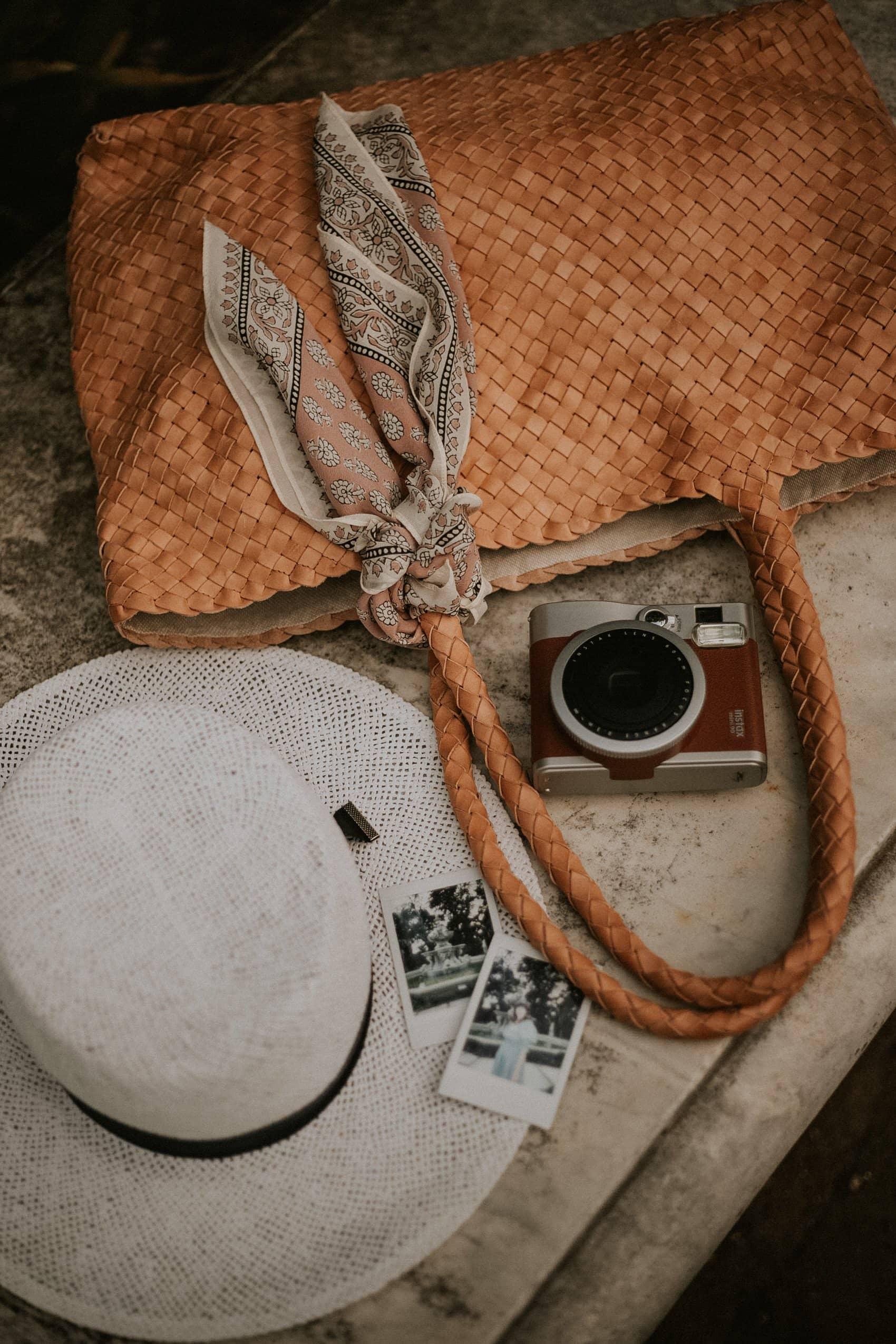 Milaner Classic Elena Woven Bag