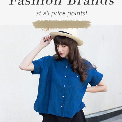 50+ Ethical Fashion Brands at All Price Ranges