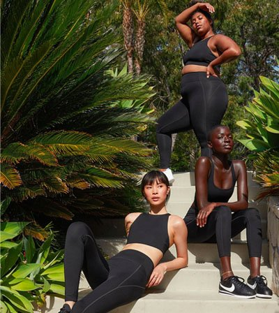 Girlfriend Sustainable activewear for all body types size inclusive