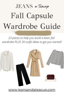 Fall Capsule Wardrobe Guide