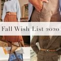 Fall Wish List 2020