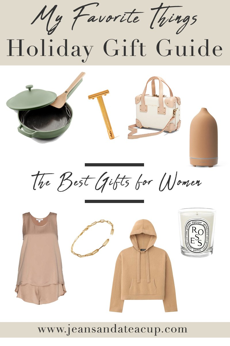 Favorite Things Holiday Gift Guide for Women 2020