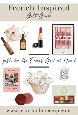 Gifts for the French Girl at Heart, French gifts for her, Holiday Gift Guide