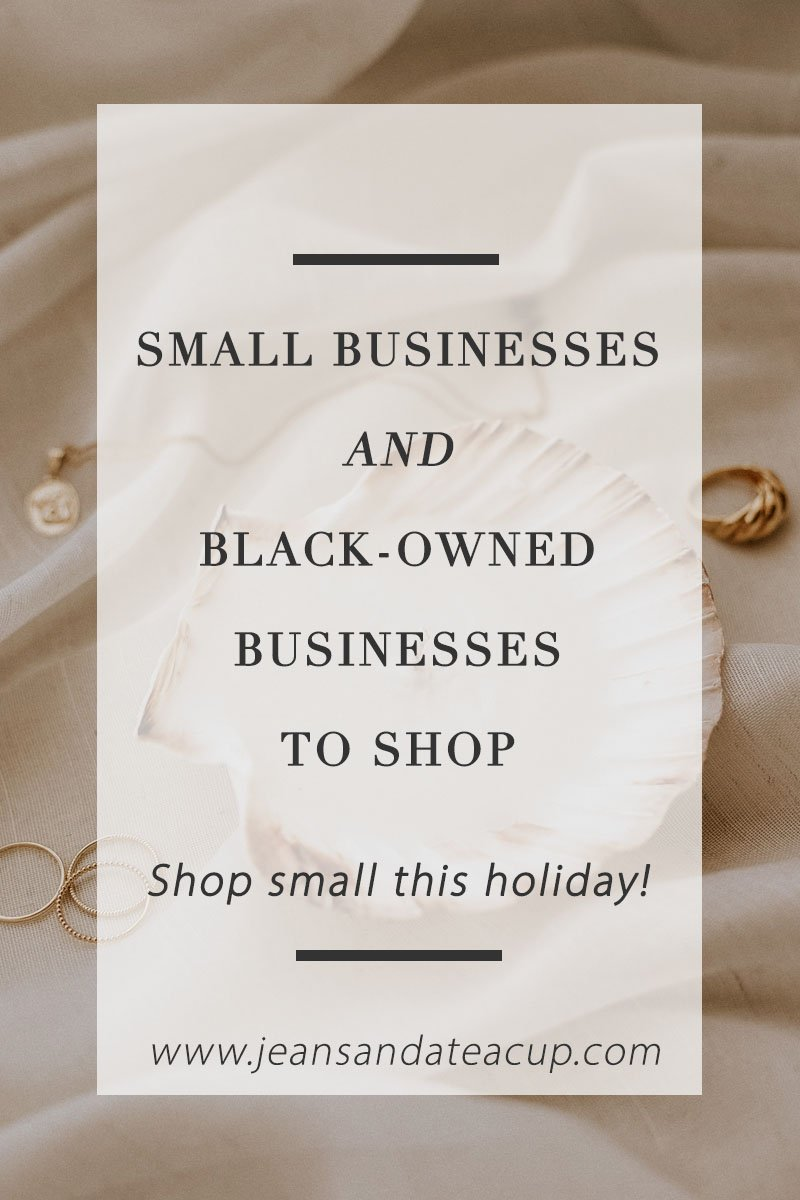Black Owned Businesses to Shop this holiday