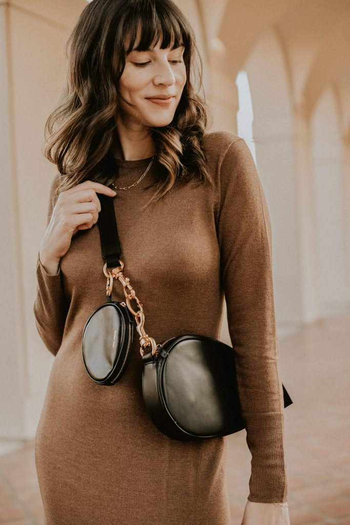 Reike Nen Middle Oval Bag with Coin Purse