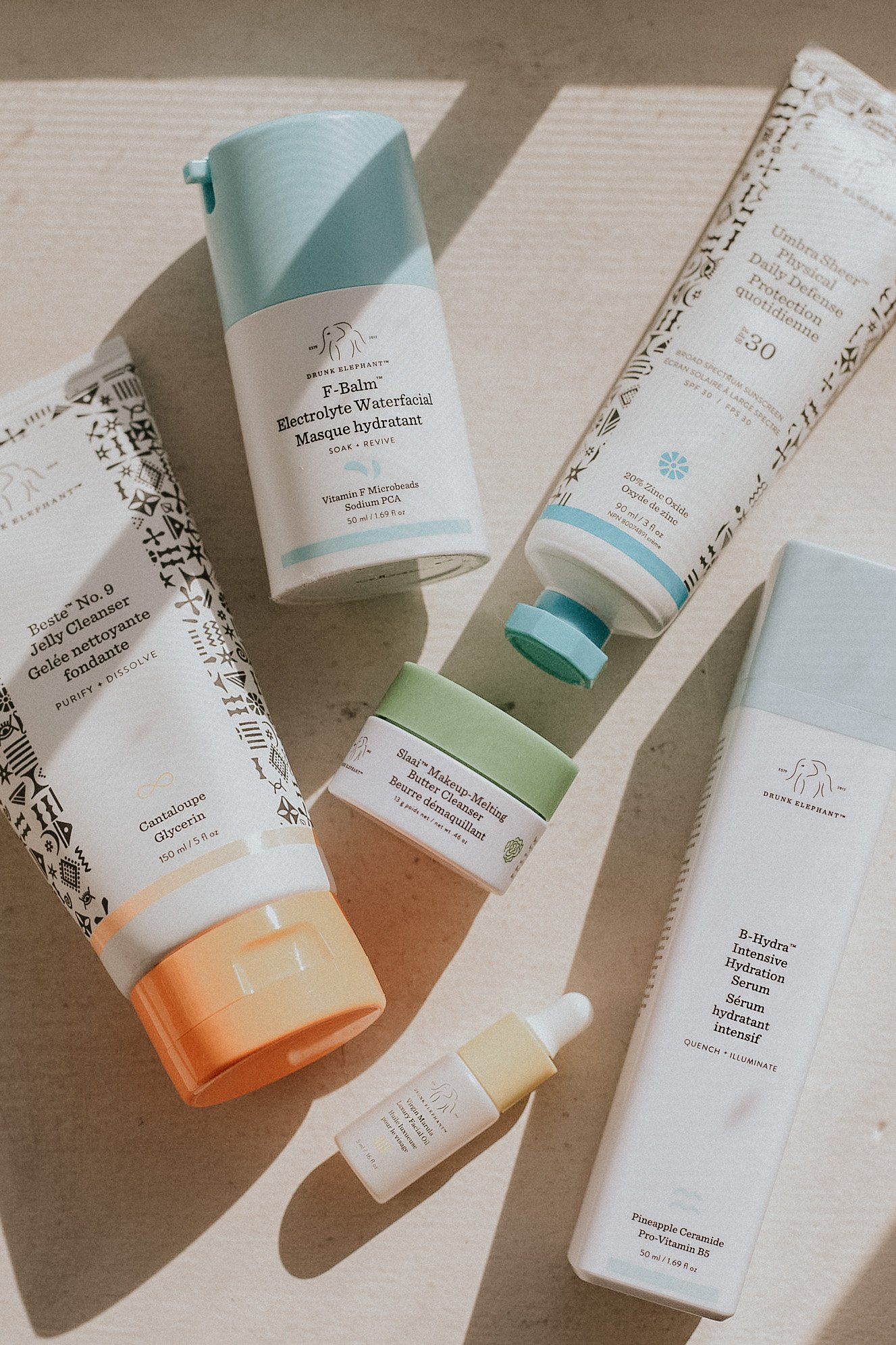 Drunk Elephant Clean Skincare Product Review, Moisturizing Skincare Products