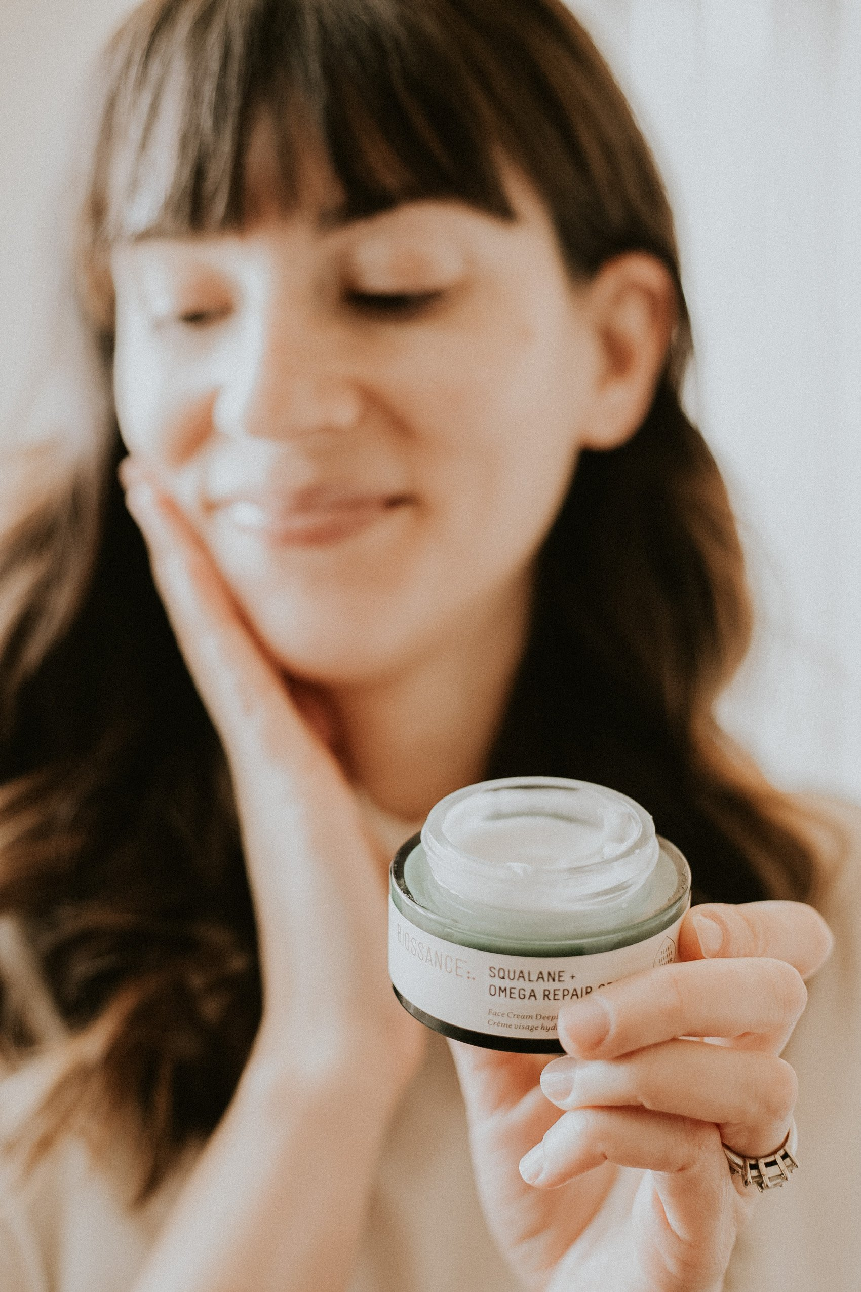 Biossance Omega Repair Cream for Winter Skin