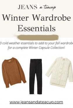 Winter Wardrobe Essentials Guide