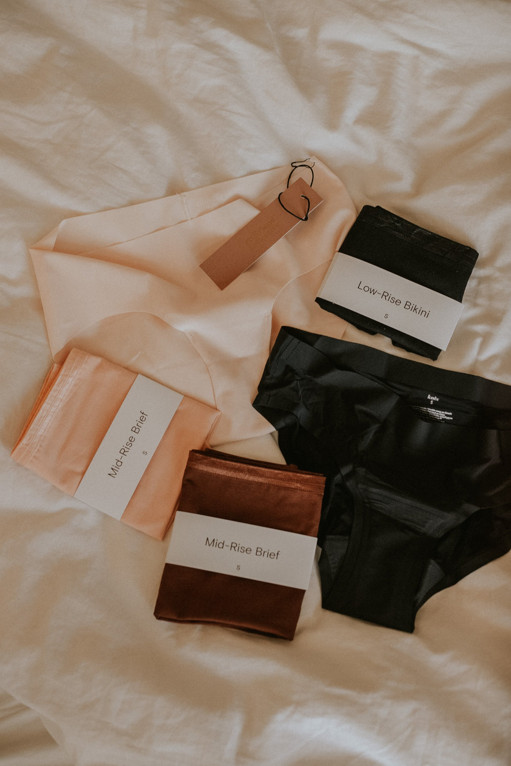 Ethical and Sustainable Underwear options from knickey, Girlfriend, and Knix