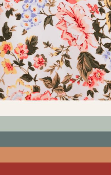 Spring Capsule Wardrobe Color Palette