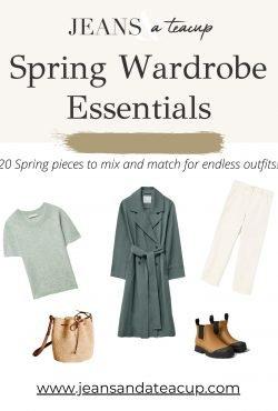 Spring Capsule Guide, Spring Wardrobe Essentials