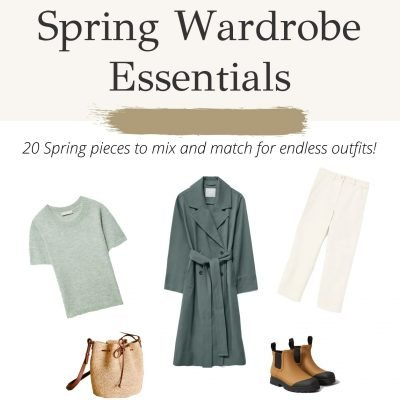 Spring Capsule Guide, Spring Wardrobe Essentials