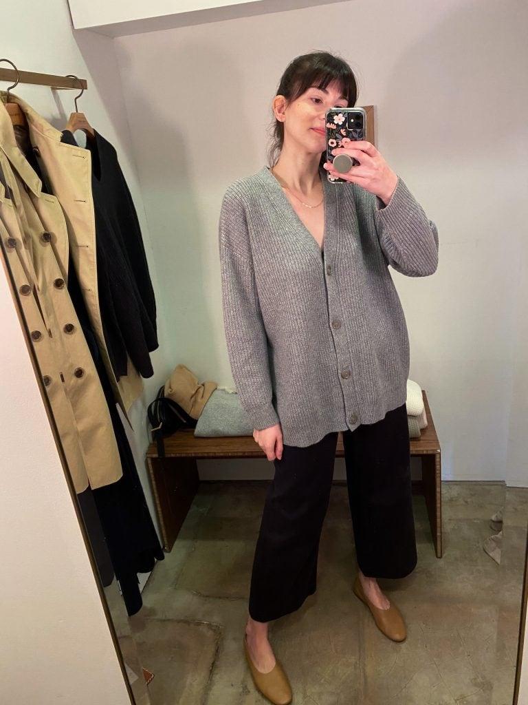 Oversized Cashmere Cardigan from Jenni Kayne