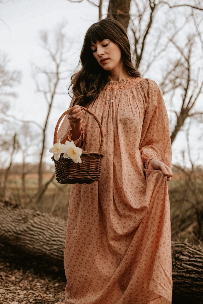 Vintage-Inspired Nightgown from DOEN