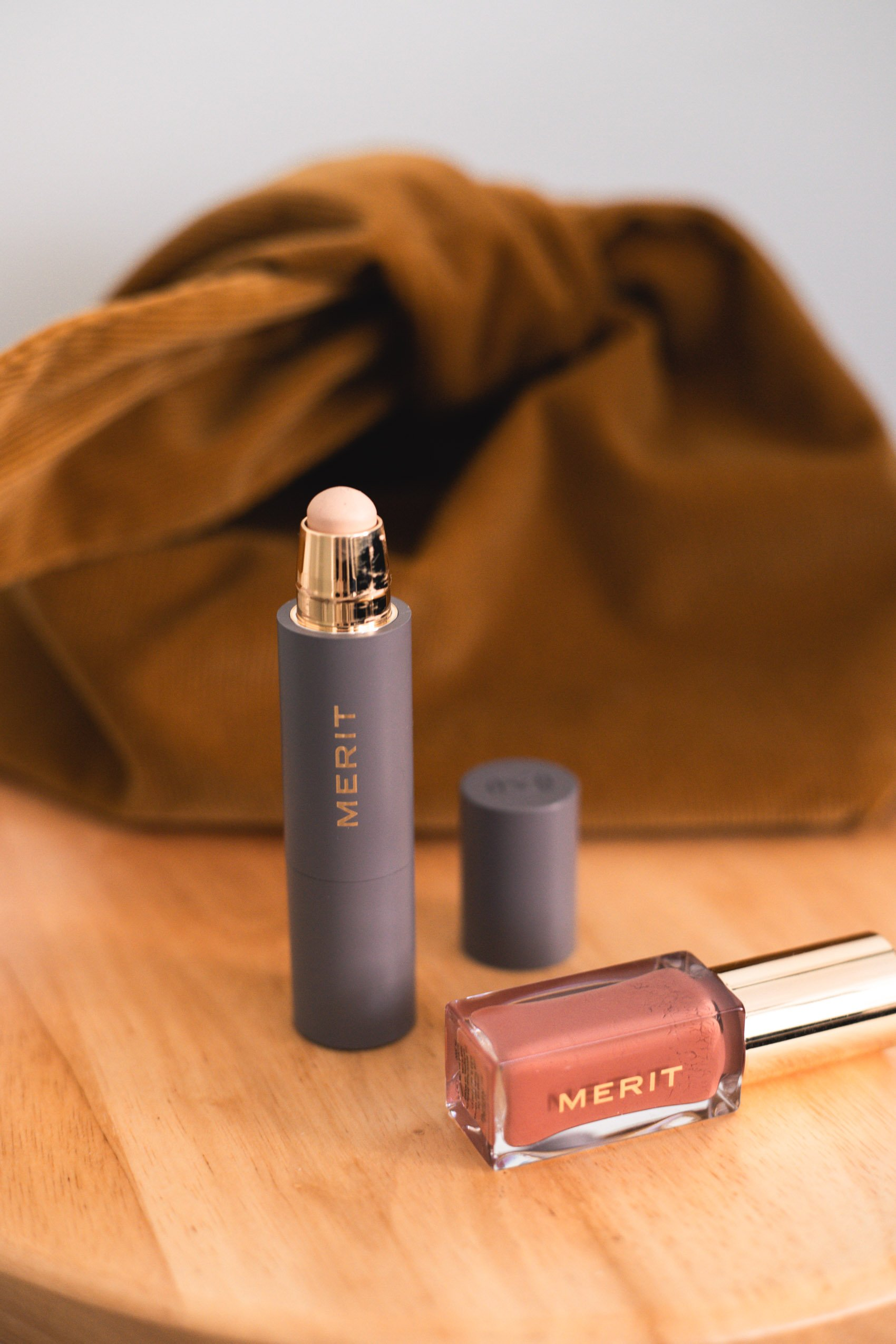 The Minimalist Perfecting Complexion Stick Review from the clean, minimalist makeup line Merit