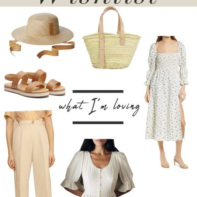 Spring 2021 Wishlist Collage