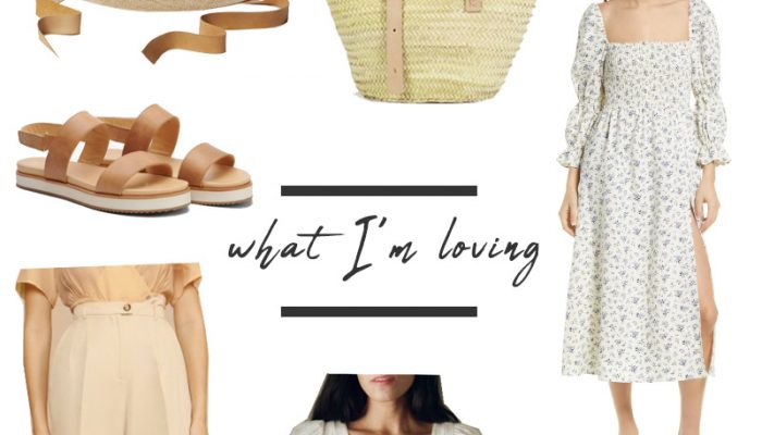 Spring Wishlist: What I'm Loving and Buying
