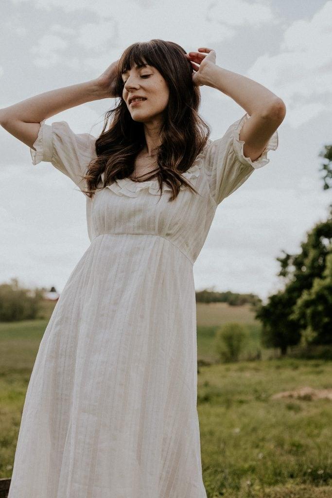 Christy Dawn Meadow Dress in White