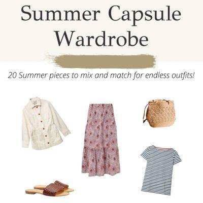 Summer Capsule Wardrobe Guide ft. Ethical Brands